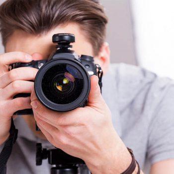 Творческая работа фотографов